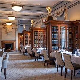 The Library at County Hall - A timeless destination for afternoon tea