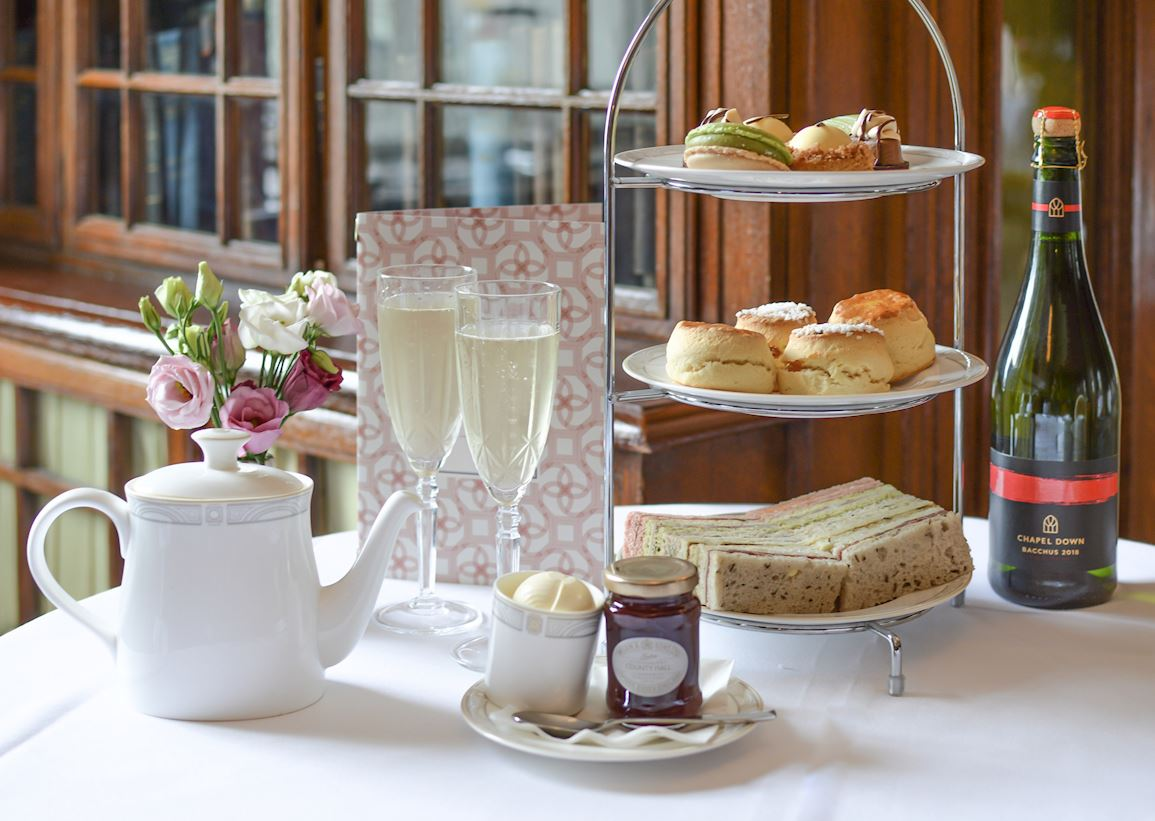 Afternoon Tea with Chapel Down