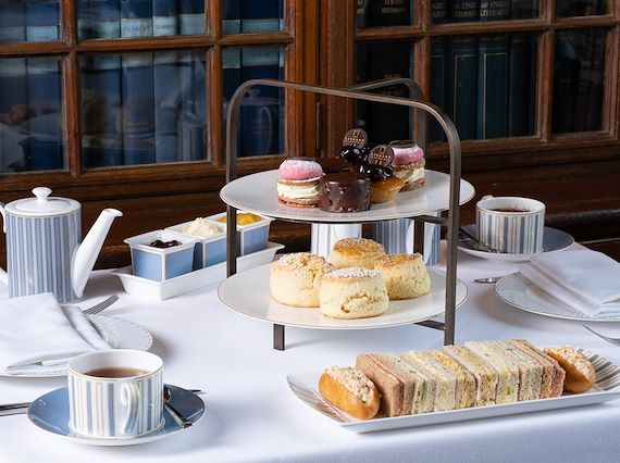 Traditional afternoon tea at Marriott County Hall