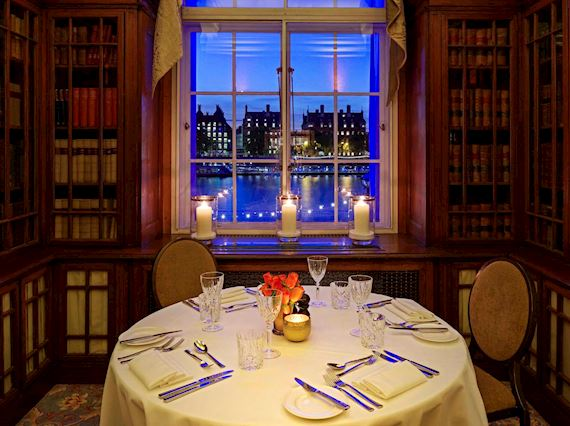 Intimate dinner with a view